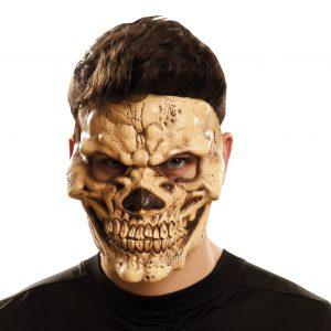 Máscara de calavera siniestra
