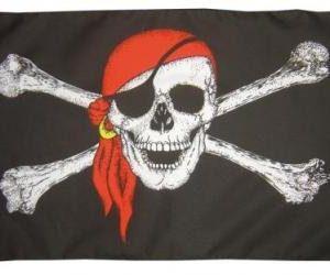 bandera pirata de calavera