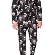 Con estos trajes de calaveras serás el centro de atención de la fiesta, pero ¿acaso no es eso lo que buscamos todos?