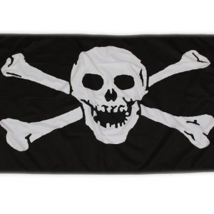 bandera calavera pirata impermeable