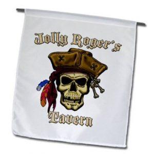 bandera de calavera jolly rogers tavern