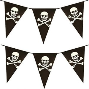 banderines piratas
