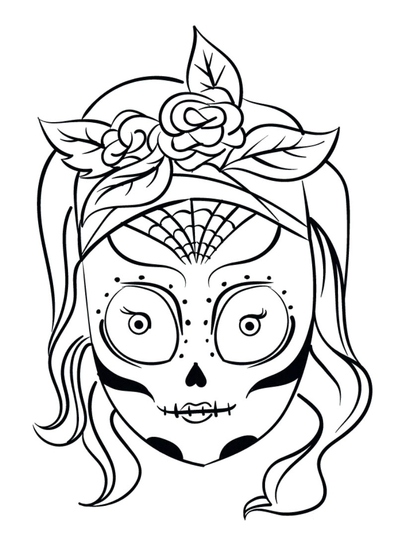 The gallery for --> Calaveras Mexicanas Para Colorear