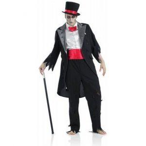 disfraz de hombre novio cadaver