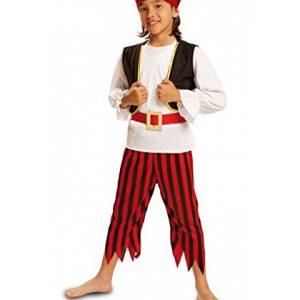 disfraz de niño pirata calavera