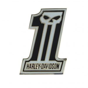 pin de calavera harley davidson