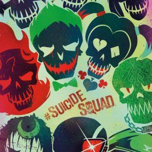 poster calaveras suicide squad