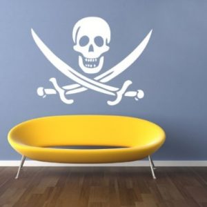 vinilo pirata para niños