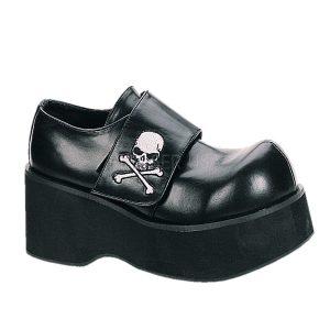 zapato punk con calavera