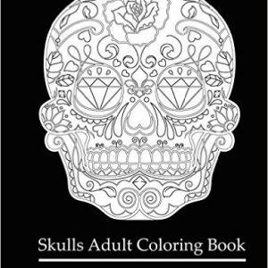 Libro de calaveras para colorear