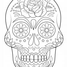 Dibujos De Calaveras Para Colorear Decalaverascom