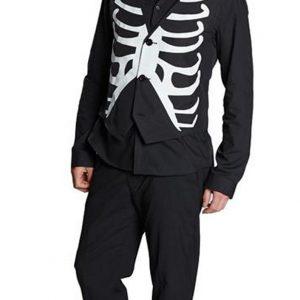 chaleco de esqueleto para traje de hombre