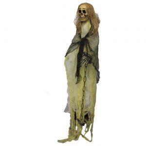 esqueleto de pie 1.80m para halloween