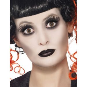 maquillaje gotico mujer