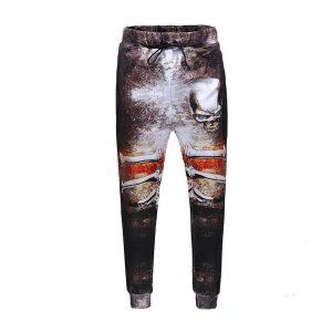 pantalones estilo hip hop con calavera