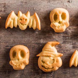 receta galletas de mantequilla para halloween