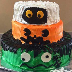 receta pastel de halloween para niños