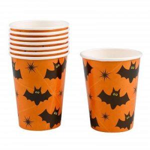 vasos de halloween