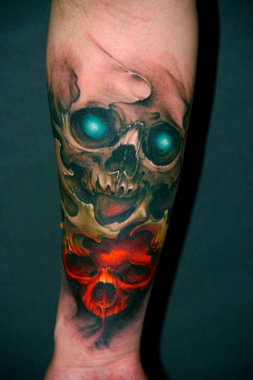 50 Tatuajes De Calaveras Que Deberías Tener Decalaverascom