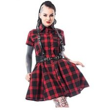 vestidos punk